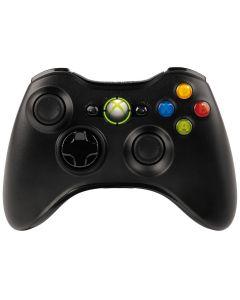 คอนโทรลเลอร์ไร้สาย (สีดำ) รุ่น Xbox 360WRLS