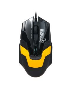 MOUSE  GAMING SIGNO GM-919 YL