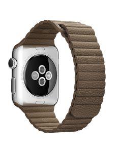 สายนาฬิกา (42mm, Leather Loop, สี Brown)