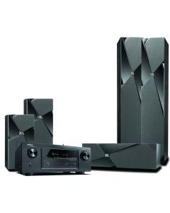 HTS SET DENON,JBL #AVR-X2200+180+130+120