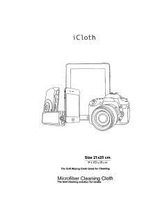 ผ้า MICROFIBER รุ่น CLEANING CLOTH