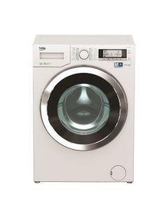 B-เครื่องซักผ้าฝาหน้า 12KG. BEKO WMY121244 LB+ขาตั้ง BEKO