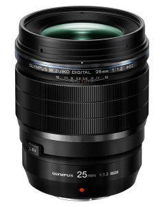 เลนส์ (25mm, F1.2, สีดำ) รุ่น ED 25MM F1.2 PRO