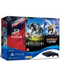 เครื่องเล่นเกมคอนโซล PS4 (สีดำ) รุ่น 4 Hits Bundle ASIA00203