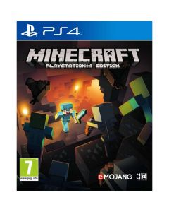 PS4G MINECRAFT PLAYSTATION 4 EDTION R3EN SOFTWARE PLAYSTATION #PCAS-00014