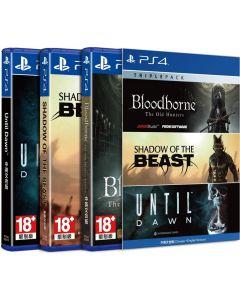 เกม PS4G TRP PC1 BLOODBPRNE+SHADOW+UNTIL DAWN SOFTWARE PLAYSTATION ASIA-00136