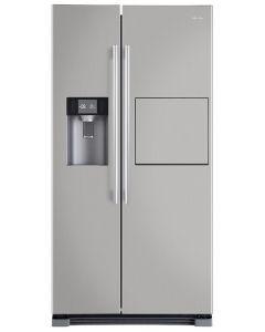 ตู้เย็น 2 ประตู Side by side (21.5 คิว, สีเงิน) รุ่น HRF-SBS628AF