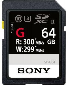 เมมโมรี่การ์ด (64GB, สีดำ) รุ่น SF-G64