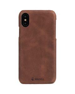 เคสสำหรับใส่ IPhone X (สี VINTAGE COGNAC) รุ่น SUNNE COVER
