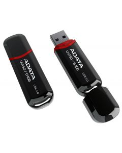 แฟลชไดร์ USB 3.0 (64GB, สีดำ) รุ่น AUV150-64G-RBK