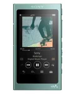 เครื่องเล่น MP3 (16GB, สีเขียว) รุ่น NW-A45