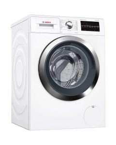 เครื่องซักผ้าฝาหน้า (8 กก.)+ ขาตั้ง รุ่น WAT28460TH