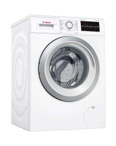 เครื่องซักผ้าฝาหน้า (9 กก.) รุ่น WAT28462TH+ขาตั้ง