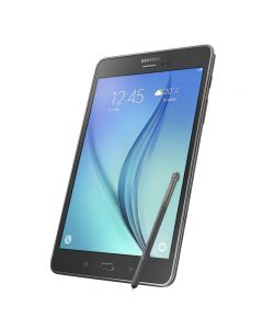 """Samsung Galaxy Tab A With S Pen (8.0"""", Grey) Front"""