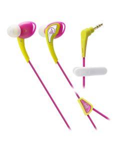 หูฟัง (สี Yellow Pink) รุ่น ATH-SPORTS2