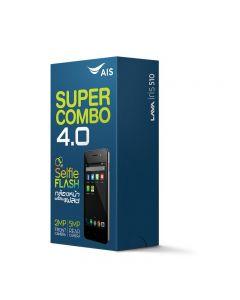 """AIS SUPER COMBO LAVA 4.0"""" SELFIE FLASH"""