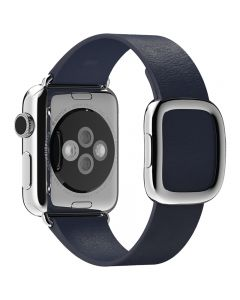 สายนาฬิกา Modern Buckle (38 มม., ไซส์ใหญ่, สีน้ำเงิน)