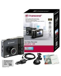 กล้องติดรถยนต์ Transcend รุ่น DrivePro 520 TS32GDP520M ความละเอียด 3 เมกะพิกเซล