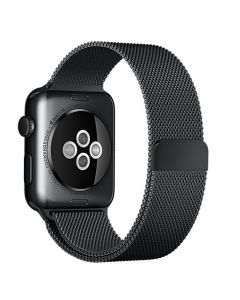 สายนาฬิกา (42 มม,Milanese Loop,สี Space Black)