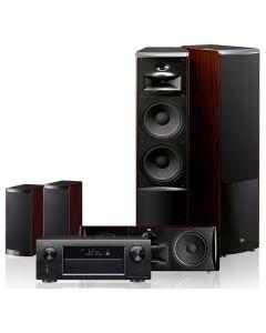 HTS SET DENON,JBL #AVR-X6200+LS80+LS40+LS-CENTER