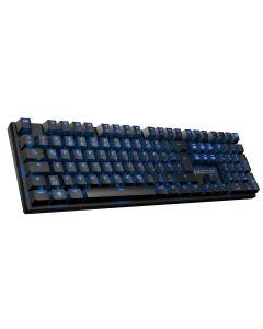 คีย์บอร์ดเกมมิ่ง (สีดำ) รุ่น RCK-SUORA Blue Switch Eng