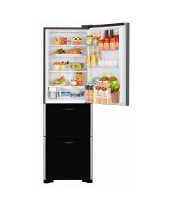 ตู้เย็น 3 ประตู (11.4 คิว, สีกระจกดำ) รุ่น R-SG32FPTH
