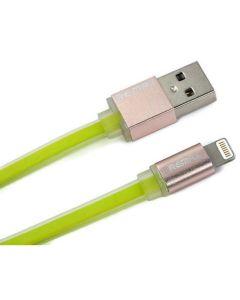 สายชาร์ต IPHONE 6 (สีเขียว) รุ่น RM-I01