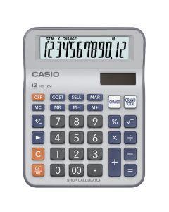 CALCULATOR DESK-TOP CASIO MC-12M
