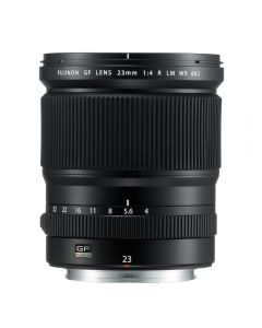 เลนส์ (GF 23mm, F4 R, สีดำ) รุ่น GF 23mm F4 R LM WR
