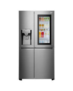 ตู้เย็น InstaView  Door-in-Door (21.7 คิว, สีเงิน) รุ่น GC-X247CSAV