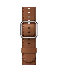 APPLE WATCHBAND 42MM MPWT2FE/A SADDLE BROWN CLASSIC B