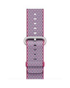 APPLE WATCHBAND 42MM MQVN2FE/A BERRY CHECK WVN NYL