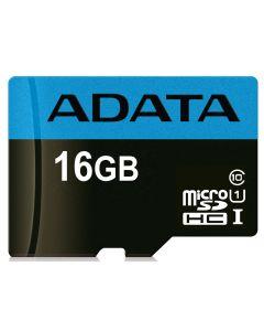 16GB MICRO SDHC PREMIER CLASS 10 ADAPTER ADATA USDH16GUICL10