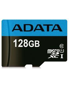 128GB MICRO SDXC PREMIER CLASS 10 ADAPTER ADATA USDX128GUICL10