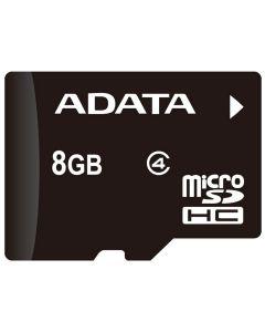 8GB MICRO SDHC ADATA CLASS AUSDH8GCL4-R