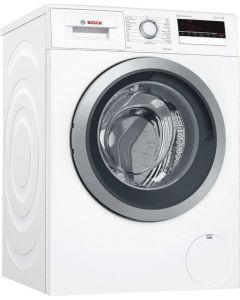 เครื่องซักผ้าฝาหน้า (8 กก.) รุ่น WAT24261TH + ขาตั้ง