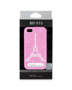 เคสสำหรับ iPhone 5/5s (สีDark Pink) รุ่น EIFFELTOWERD.PK
