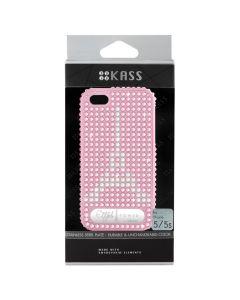 เคสสำหรับ iPhone 5/5s (สีLight Pink) รุ่น EIFFELTOWERL.PK