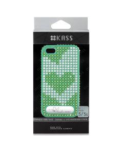 เคสสำหรับ iPhone 5/5s (สีLight Green) รุ่น OURHEARTS1L.GR