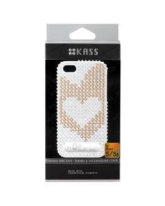 เคสสำหรับ iPhone 5/5s (สีRose Gold) รุ่น HEARTS1ROSEGOLD