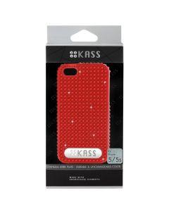 เคสสำหรับ Iphone 5/5S (สีแดง) รุ่น Simply