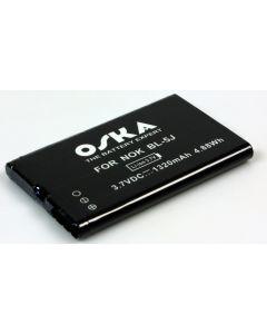 แบตเตอรี่มือถือ สำหรับ Nokia รุ่น MS BT NO BL-5J OS