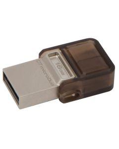 แฟลชไดร์ฟ (16GB) รุ่น DUAL ON-THE-GO DTDUO