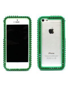 เคสสำหรับ Iphone 5/5s (สีเขียวเข้ม) รุ่น Bumper