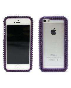 เคสสำหรับ Iphone 5/5s (สีม่วงเข้ม) รุ่น Bumper