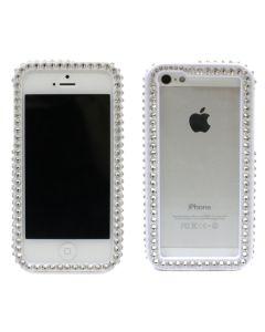 เคสสำหรับ Iphone 5/5s (สีขาว) รุ่น Bumper