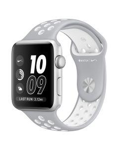 สายนาฬิกา Series 2 NIKE+ (42 mm, Nike Sport Band,  สี Silver Aluminium)