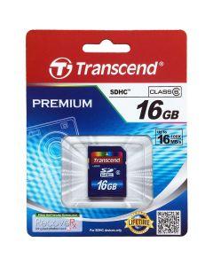 เมมโมรี่การ์ด (16GB) รุ่น Transcend 16 GB