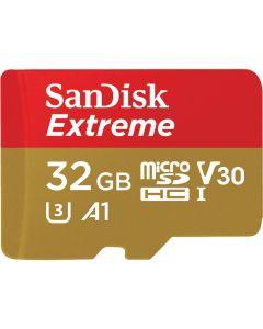 เมมโมรี่การ์ด (32GB) รุ่น Extreme SDSQXAF 032G GN6MA
