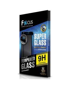 ฟิล์มกระจกกันรอยแข็งแกร่งพิเศษเต็มจอลงโค้ง 3D สำหรับ iPhone 8 Plus (สีดำ)